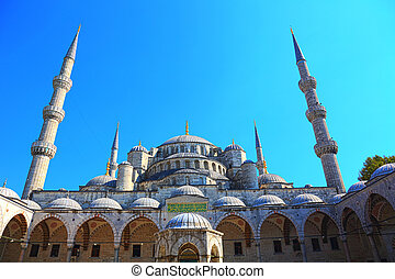 sultán, ahmed, mezquita, estambul