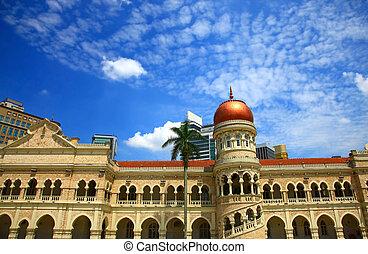 Sultan Abdul Samad Building, Kuala Lumpur.