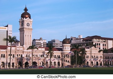 Sultan Abdul Samad Building in Kuala Lumpur Malaysia.