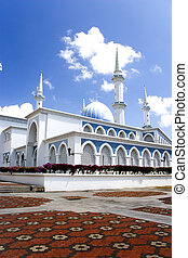 Sultan Ahmad I State Mosque, located at Kuantan, Pahang,...