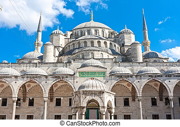 Blue Mosque - Sultan Ahmed Blue Mosque in Istanbul, Turkey