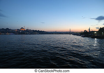 Sultan Ahmed Mosque view from river - Architecture and...