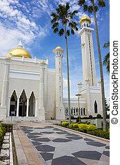 Sultan Omar Ali Saifuddien Mosque, Brunei - Image of Sultan...