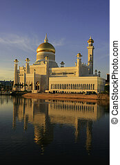 Sultan Omar Ali Saifudding Mosque, Bandar Seri Begawan,...