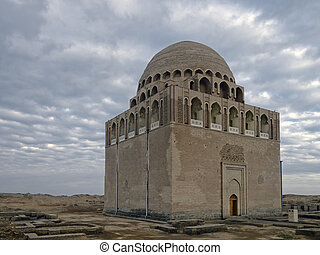 Sultan Sanjar mausoleum - Twelfth-century mausoleum of...