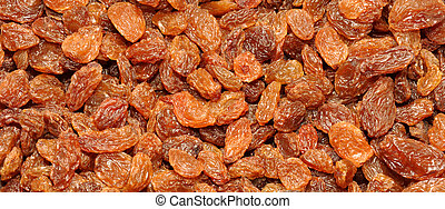 Sultana Background - Dried golden sweet sultana fruit...