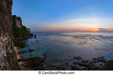 Suluban beach in Bali - Indonesia
