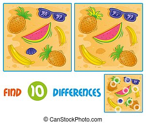 Sumer pattern find 10 differences