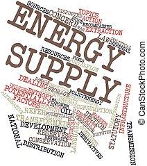 suministro energía
