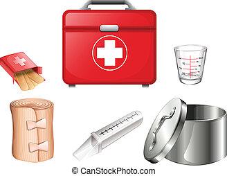 suministros, médico