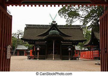 Sumiyoshi Taisha Shrine, Osaka, Japan
