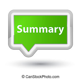 Summary prime soft green banner button