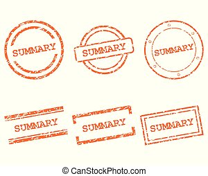 Summary stamps