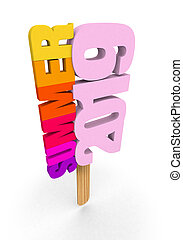 summer 2019 ice lolly word