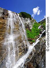 Summer alpine landscape in National Park Hohe Tauern, Austria