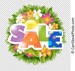 Summer And Spring Sale Banner