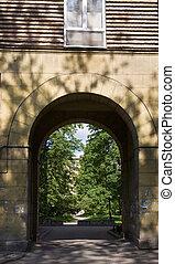 Summer arch