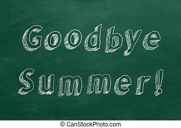 summer!, arrivederci