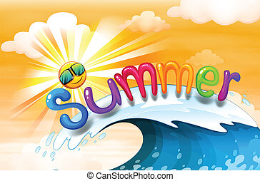 Summer artwork