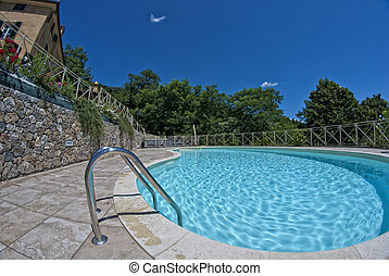 Summer at Agriturismo in Tuscany, Italy