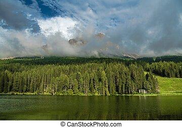 Summer at the Lake Misurina