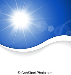 Summer background with place for your content