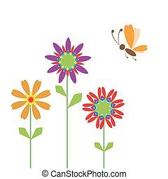 Summer background for your design