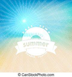 Summer background. Grunge.