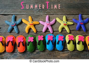 Summer background , summertime