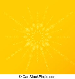 Summer background with a special sun burst, vector design, eps10