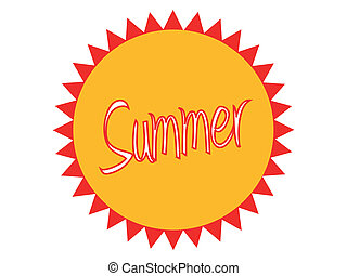 Summer Badge