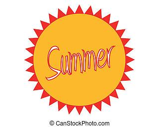 Summer Badge