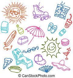 Summer Beach Items