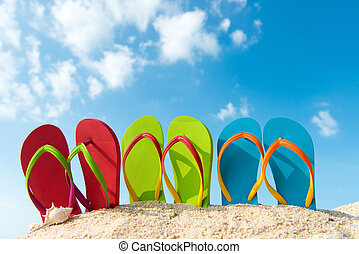 Summer beach