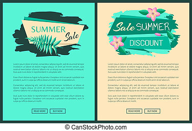 Summer Big Sale Discount Summertime Advertisement