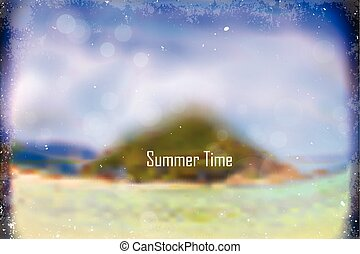 summer blur background