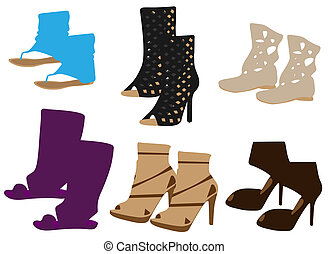 Summer boots for woman