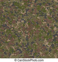 Summer Camouflage Pattern. Seamless Texture.