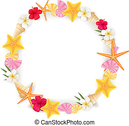 Summer circle frame