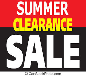 Summer Clearance Sale Promotion