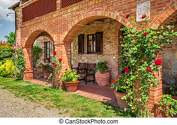 Summer cottage agriturismo in Tuscany, Italy