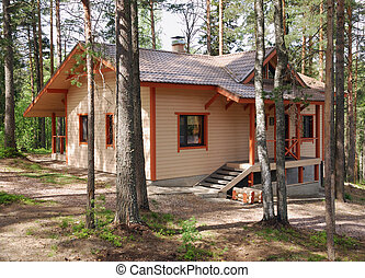 cottage - summer cozy cottage in northern pine wood