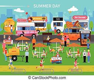 Summer Day Background