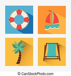 summer day design, vector illustration eps10 graphic