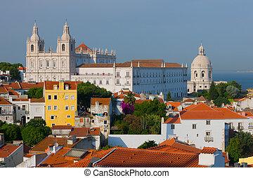 Summer day in Lisbon