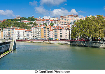 Summer day in Lyon