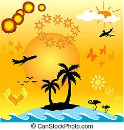 Summer design aids - Summer themed design aids