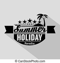 Summer Design Badge.