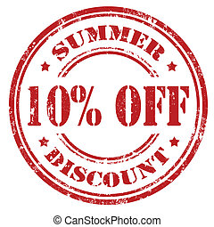 Summer Discount-stamp