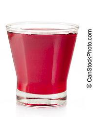 Summer drink rose water